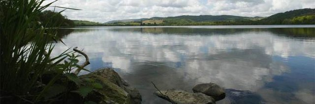 View across the Loch © Perthshire Picture Agency