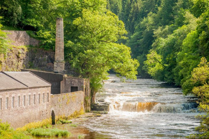 Dundaff Linn and Falls of Clyde Visitor Centre