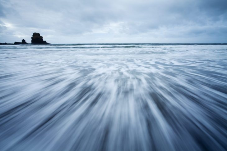 Black beach, Talisker Bay, Isle of Skye