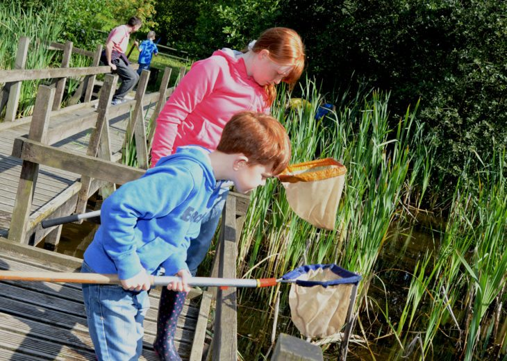Pond dipping at Jupiter