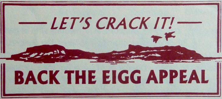 Let's crack it sticker ©Kenny Taylor