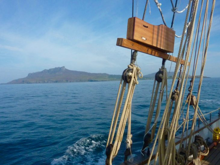 Eigg from the sea ©Kenny Taylor