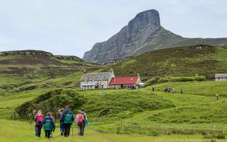 Galmisdale and An Sgurr, Isle of Eigg