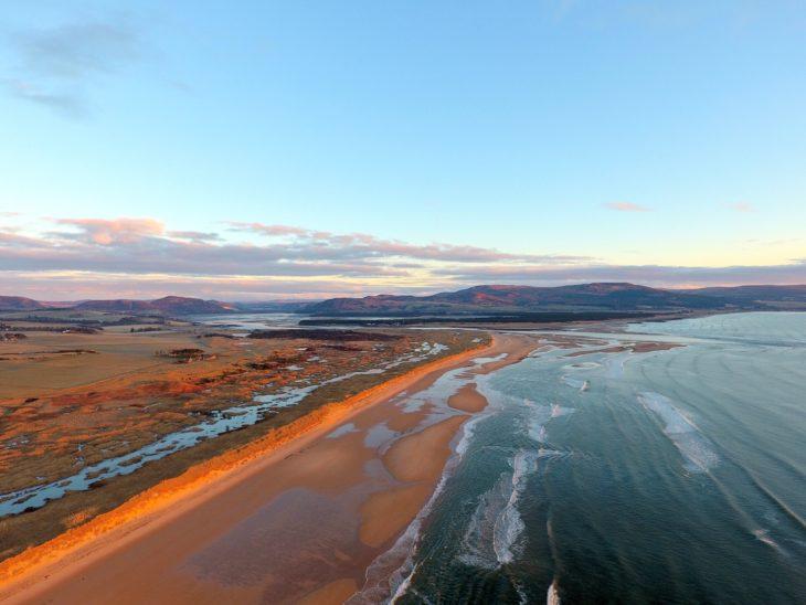 Coul Links aerial © Craig Allardyce