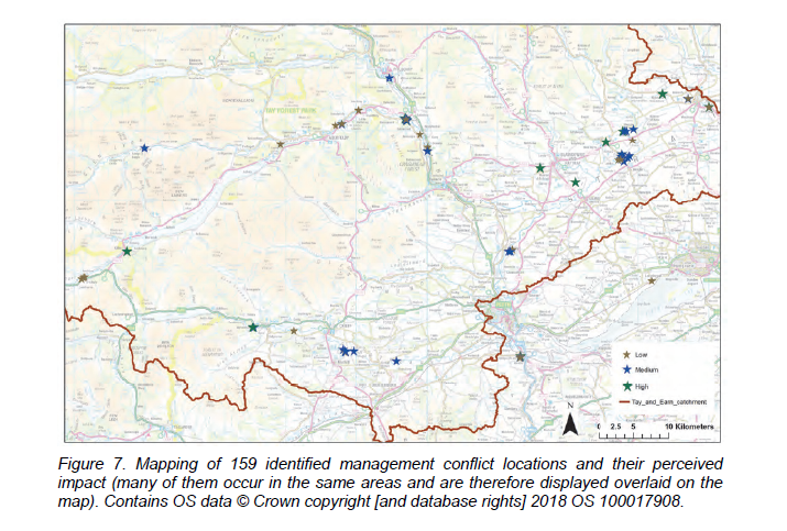 Figure from SNH beaver survey 2018 (Crown Copyright)