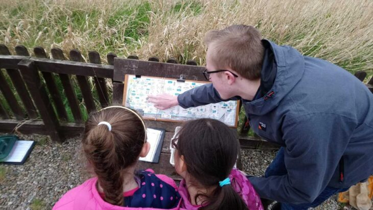 Helping young people explore Montrose Basin © Alison O'Hara