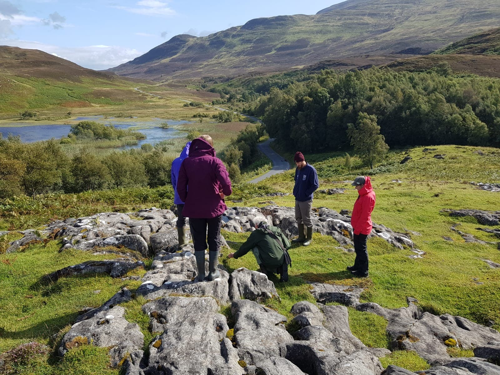 The geomorphology of the Perthshire reserves