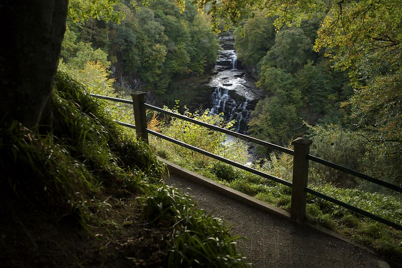 Five things to know when visiting the Falls of Clyde
