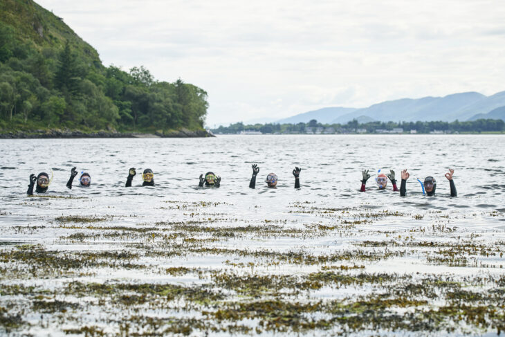 Launch of the Lochaber snorkel trail