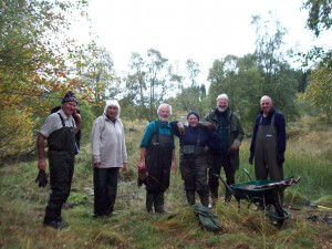 Cold, wet and messy but satisfying work! - SWT