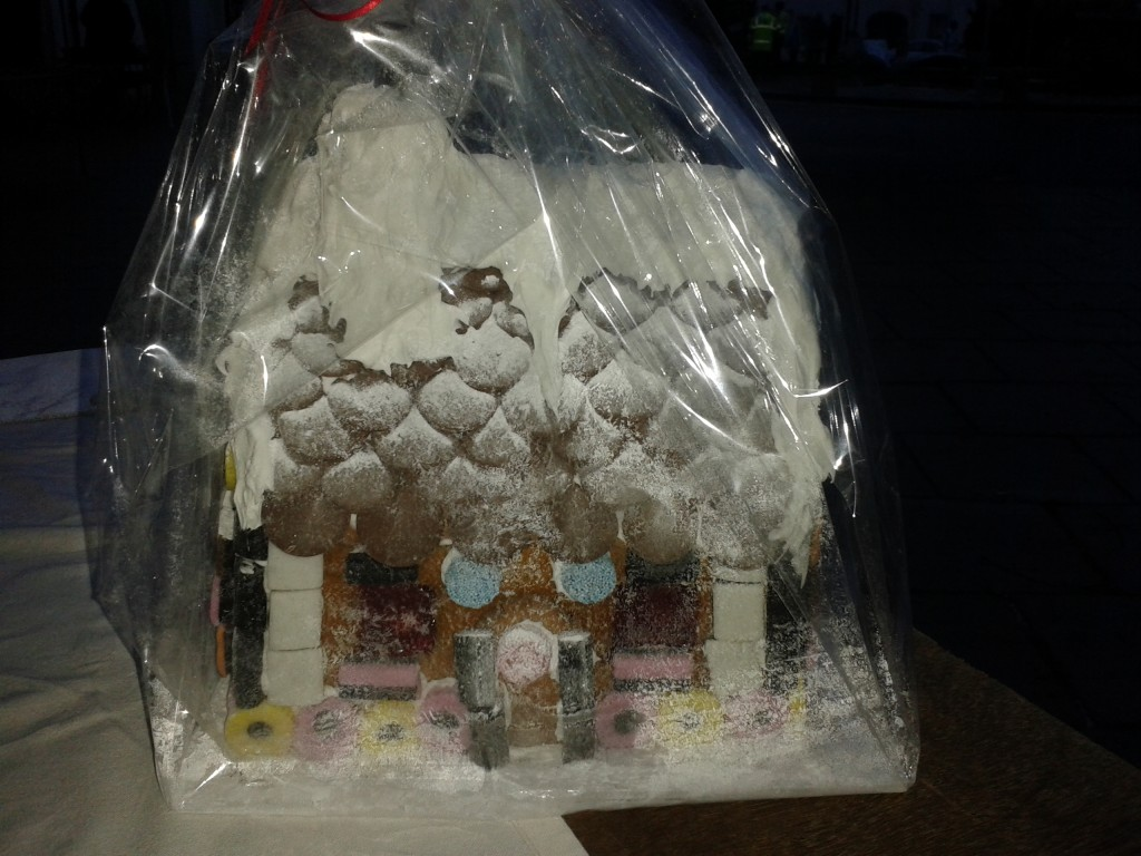 Win this Gingerbread House!!!!