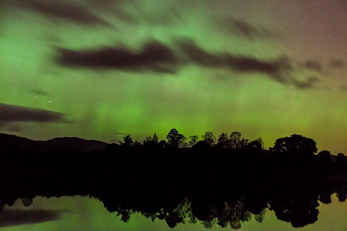 Northern Lights at Lowes by Ron Walsh- copyright
