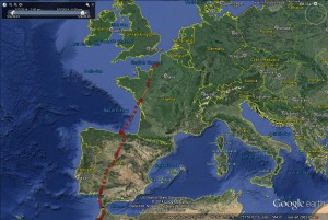 Blue YD's journey to France May 2014- copyright SWT