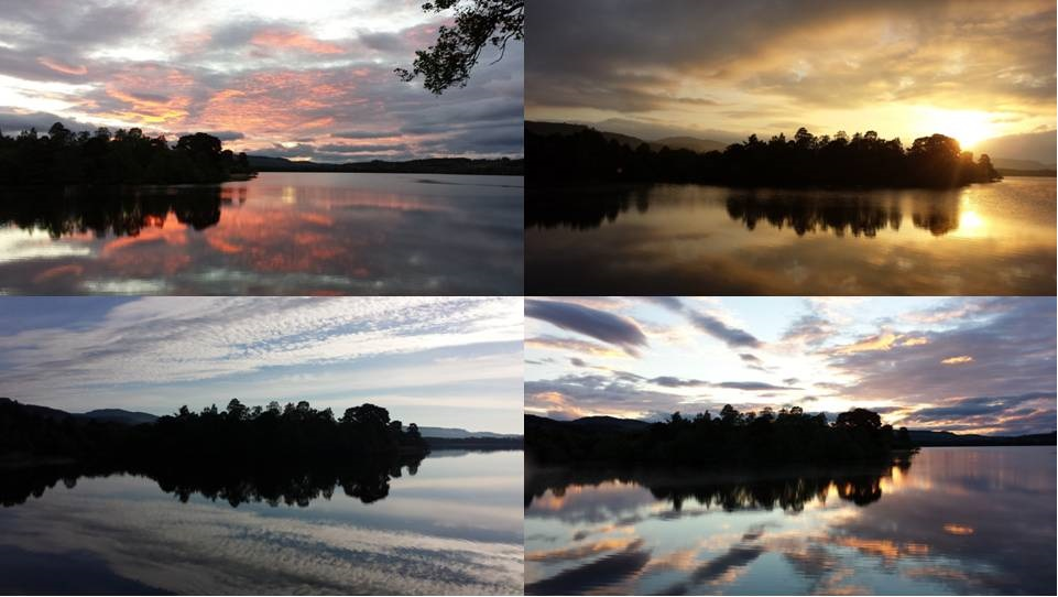 Dawn on the Loch - copyright SWT