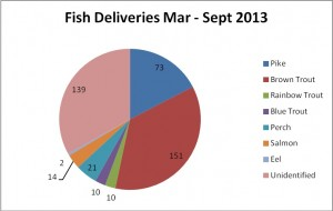 fish deliveries 2013 march sept