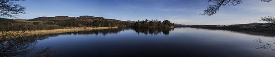 Panorama of the Loch in early Spring. Photo taken by Chris Cachia Zammit