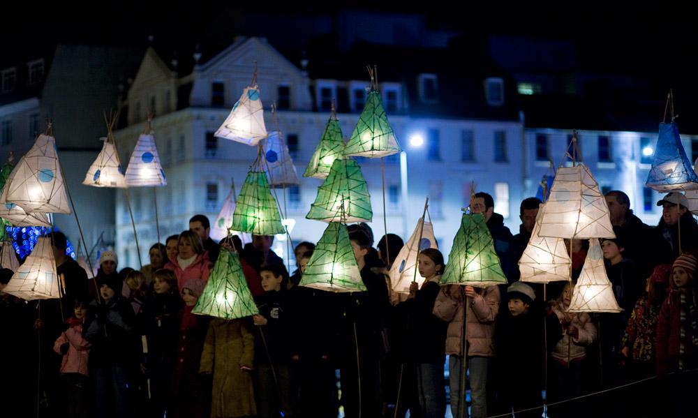 Lantern Parade © Jersey Tourism