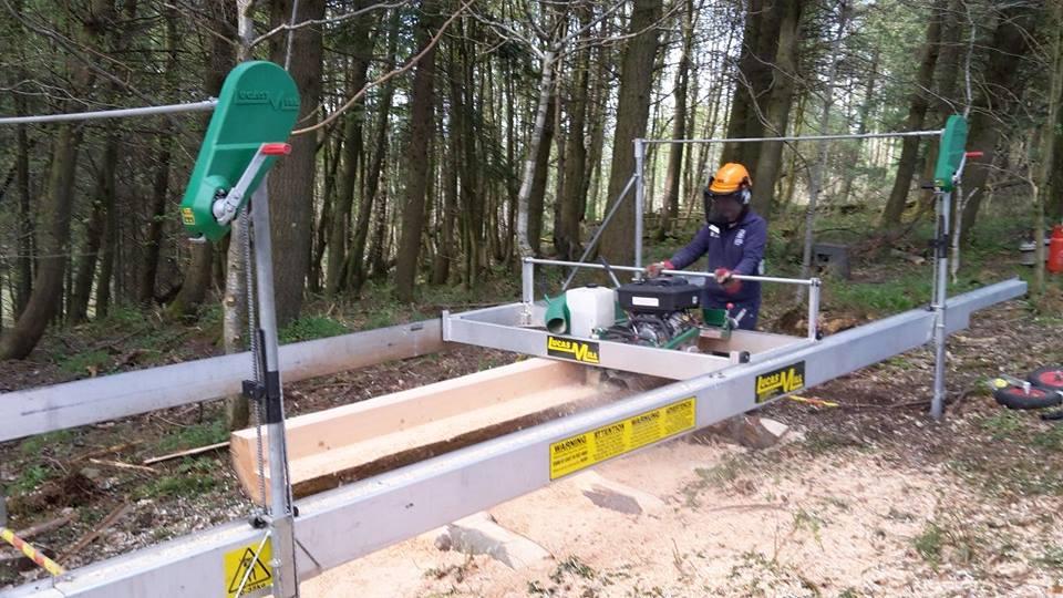 Portable sawmill (c) Susanne Maas