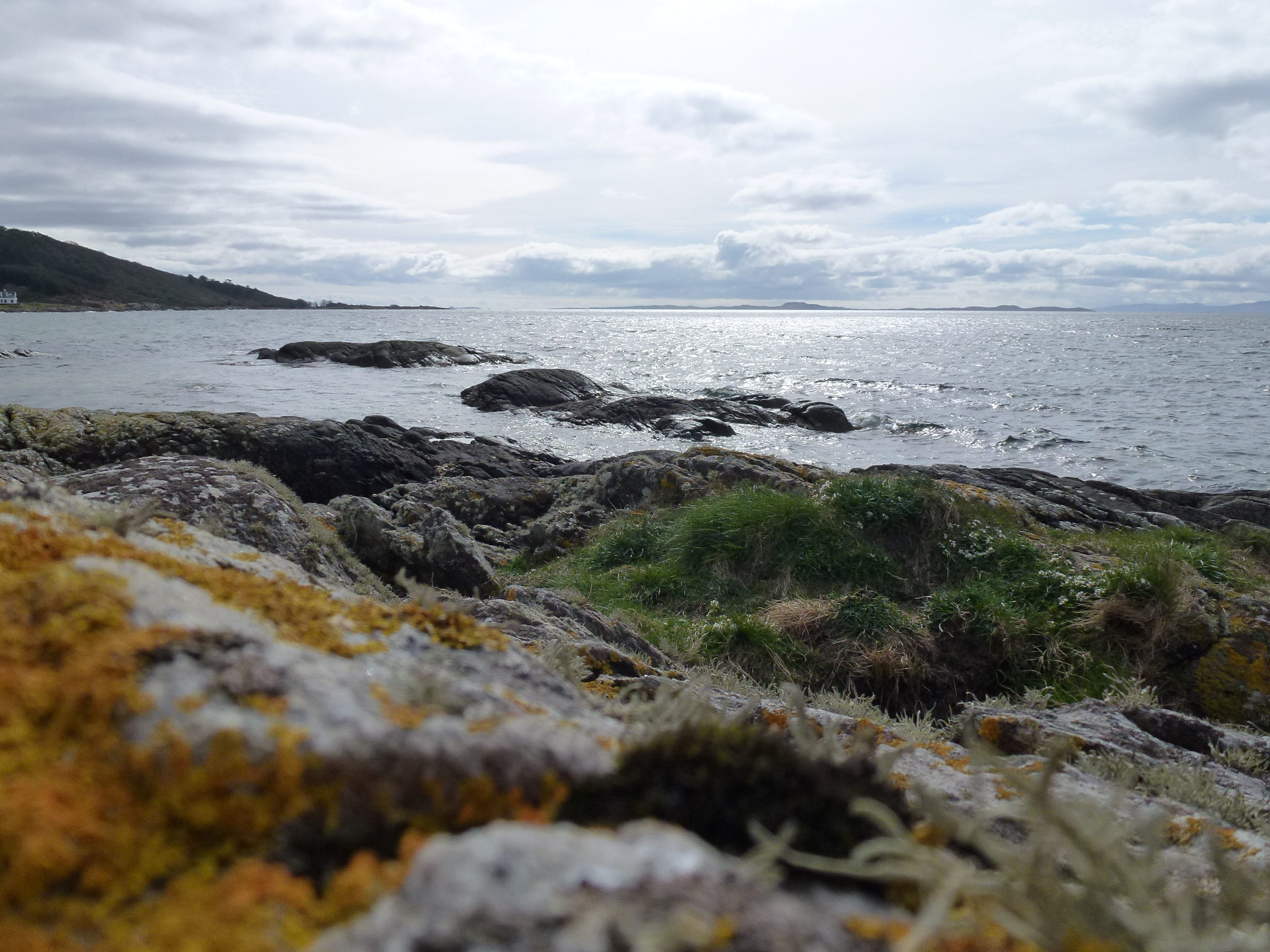 Kintyre looking over to Gigha (c) Laura Preston