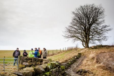 Helping to uncover history in the Clyde and Avon Valleys (c) Paul Murtagh