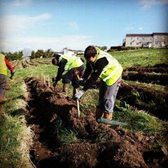 Netherton tree planting (c) Clyde and Avon Valley Landscape Partnership