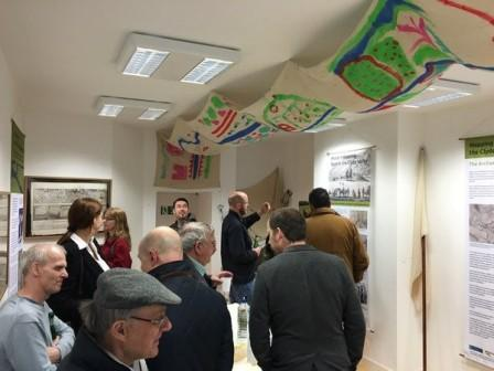 The Official Launch of the Mapping the Past Exhibition in Carluke, April 2016 (c) CAVLP Heritage