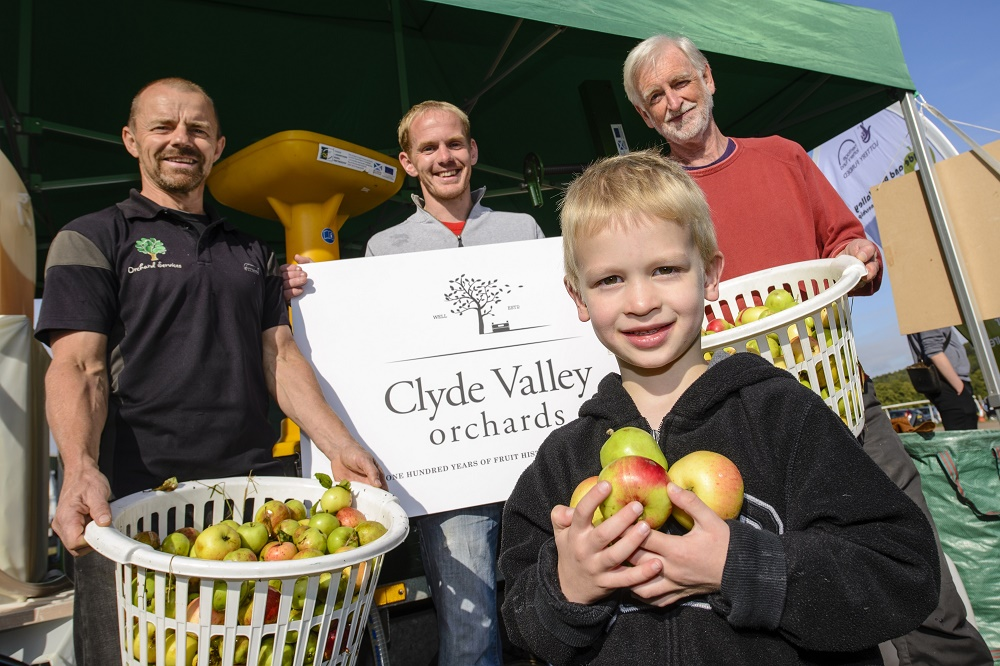 The Clyde Valley Orchards Cooperative at Fruit Day 2015 (c) South Lanarkshire Council