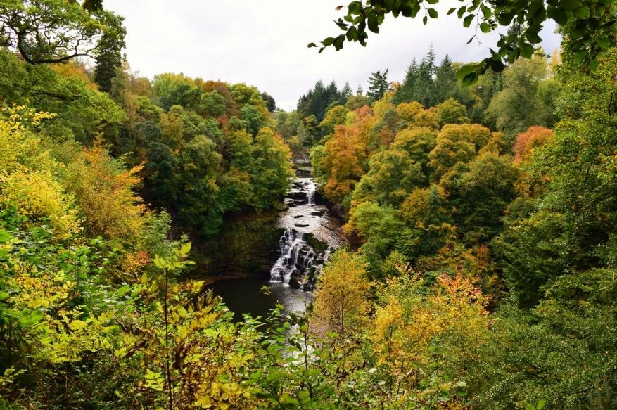 Corra Linn in colour (C) JGC MacKenzie