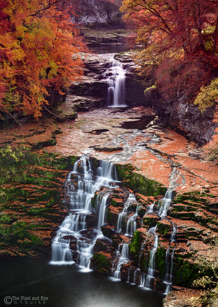 Autumn Falls (C) Bryan Burke