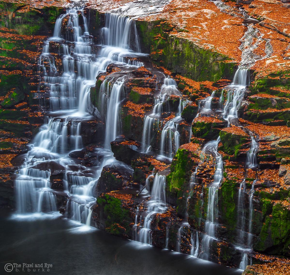 Flowing Falls (C) Bryan Burke