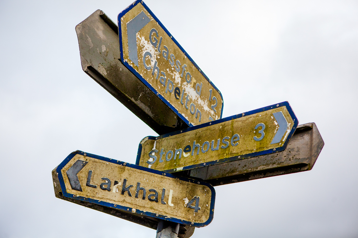 Larkhall, Stonehouse sign (c) Icecream Architecture