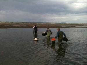 This was the shallow bit! (c) Scott O'Hara, Scottish Wildlife Trust