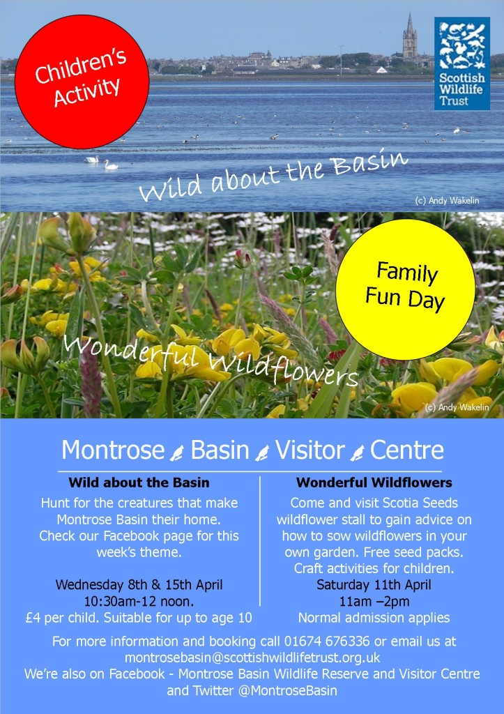 Wildflower and kids event April
