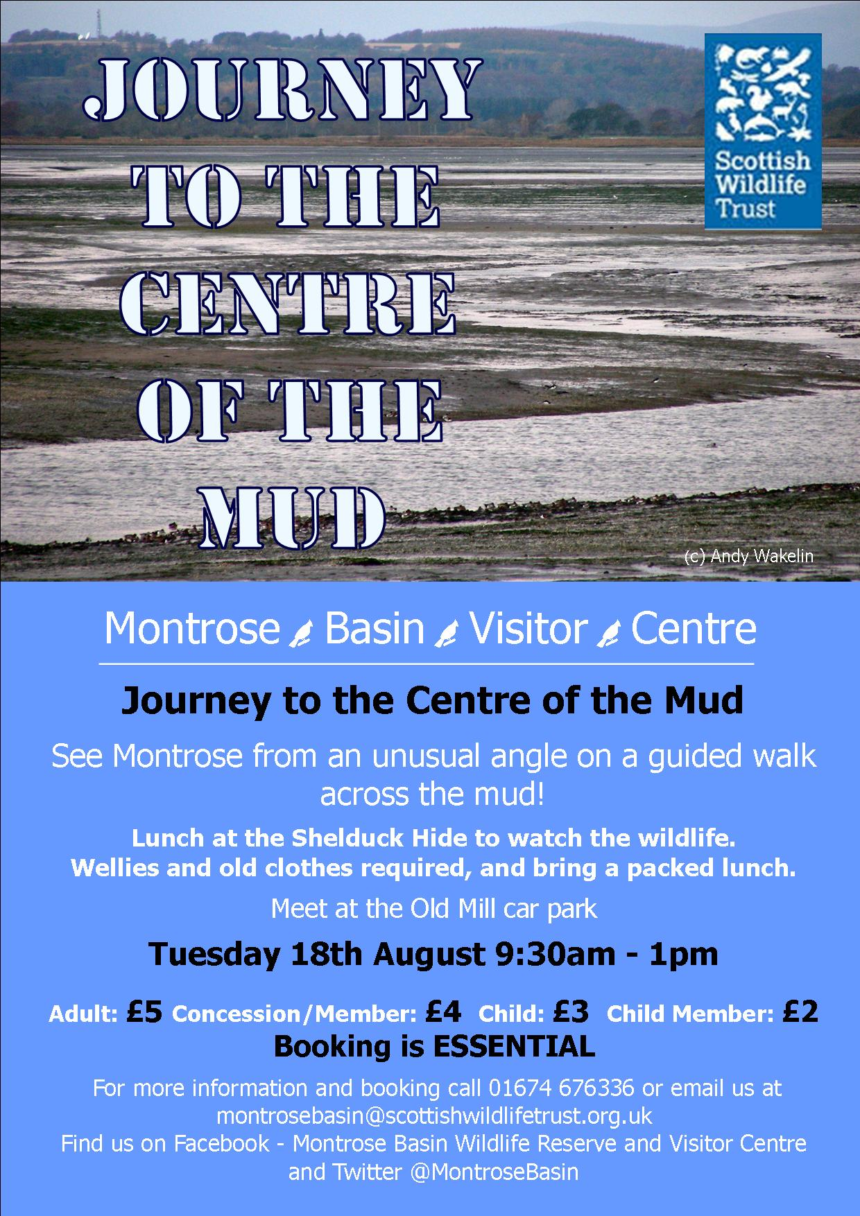Journey to the centre of the mud