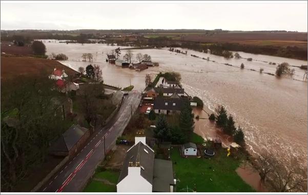 Marykirk flooding