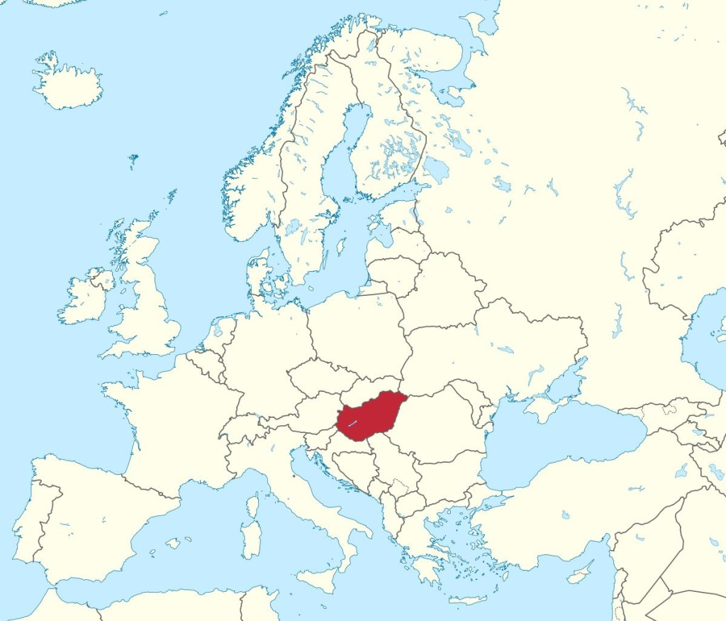 Where is Hungary in Europe?