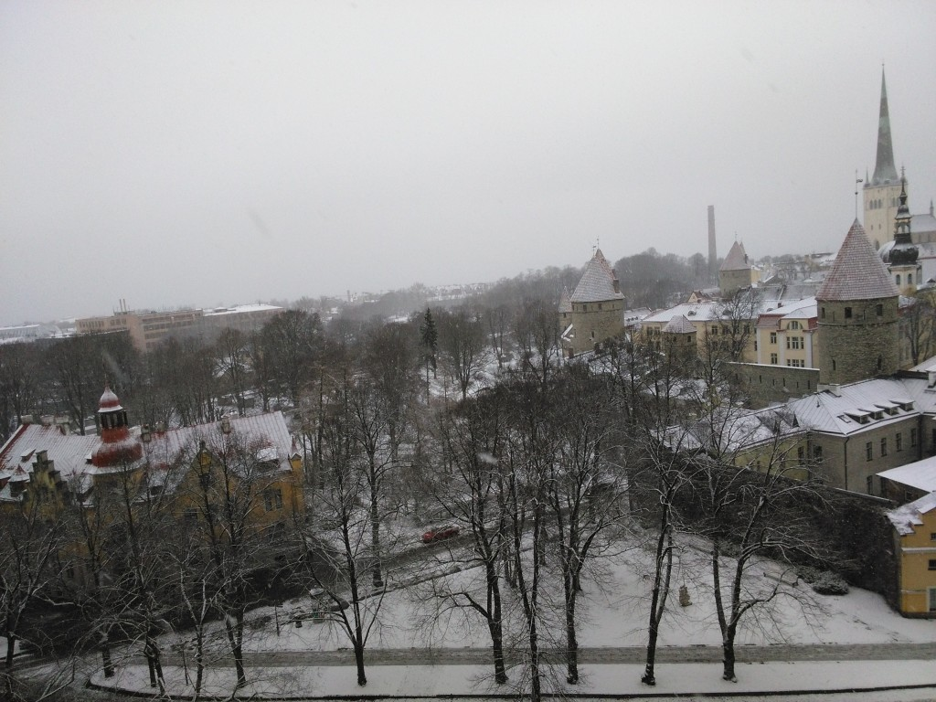 Tallinn - first day of spring
