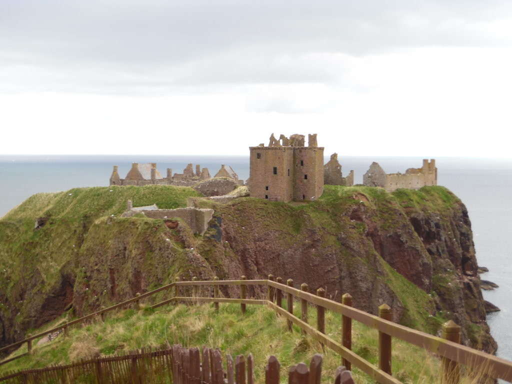 Dunnottar Castle view © Marika Davoli
