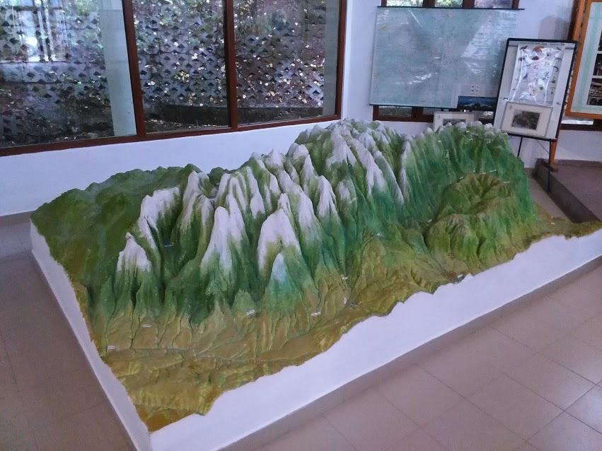 mountain-model